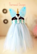 Blue Butterfly Fairy Mannequin