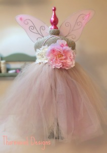Crocheted Fairy Mannequin