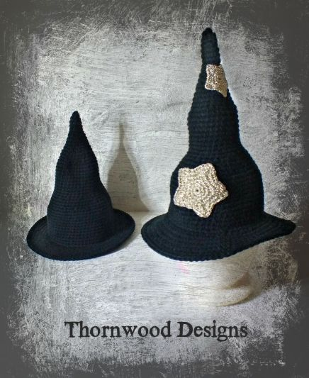 Witch Hat Thornwood Designs Crochet